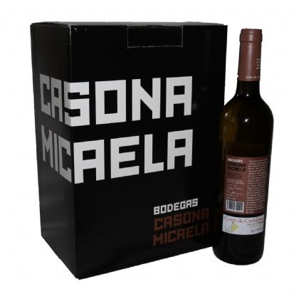 6 botellas de vino Casona Micaela D.O. Costa de Cantabria Imagen (2)